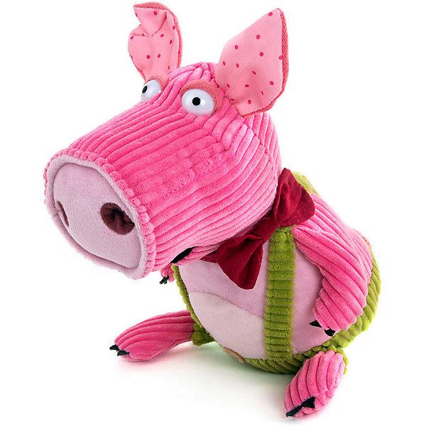 Купить Мягкая игрушка Gulliver Поросёнок Боря, 20 см, Китай, розовый, Унисекс