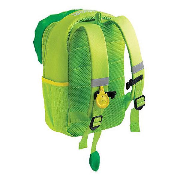 Купить Рюкзак детский Toddlepak Динозаврик, TRUNKI, Великобритания, зеленый, Унисекс