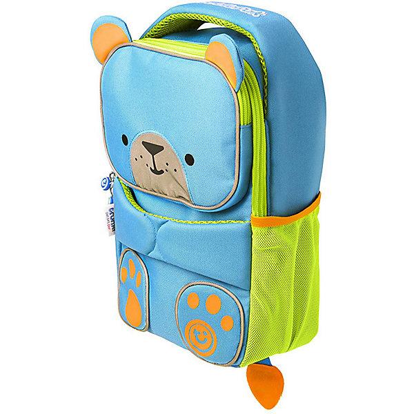 Рюкзак детский Toddlepak Берт, голубой TRUNKI