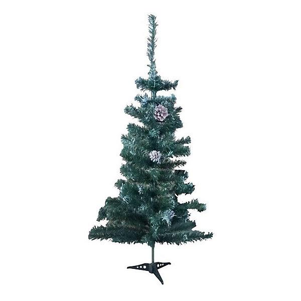 Новогодняя сказка Искуственная ёлка с шишками Новогодняя сказка 90 см, зелёная snowmen н г ёлка конус световод с инеем звезда бат 25см 4цв в пвх е50051