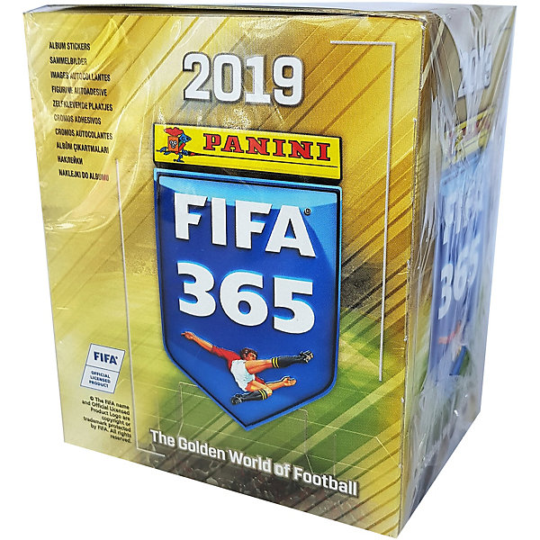 Купить Бокс с наклейками Panini FIFA 365-2019™, 50 пакетиков, Италия, Унисекс