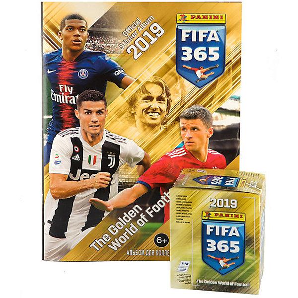 Купить Альбом Panini FIFA 365-2019™ и бокс с наклейками, 50 пакетиков, Италия, Унисекс