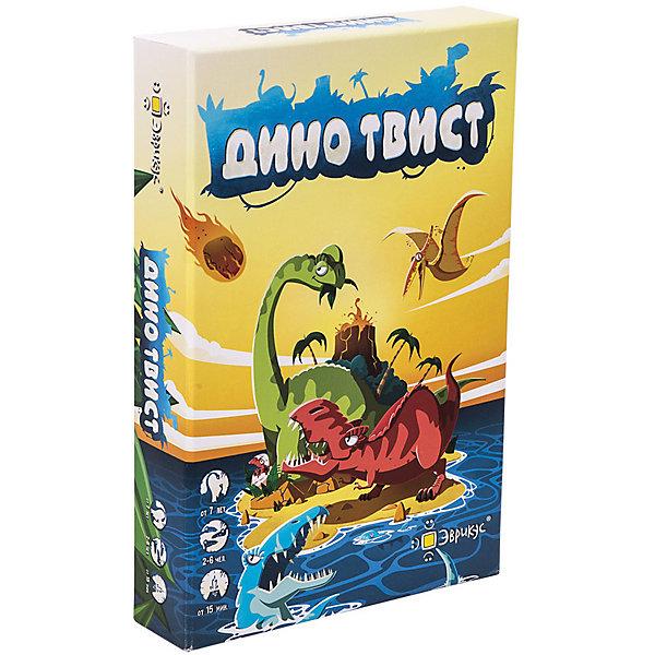Эврикус Настольная игра Дино Твист