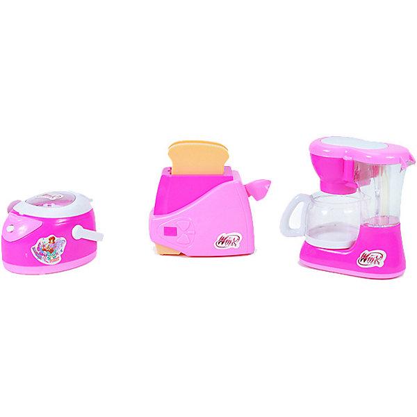 Winx Club Игровой набор Winx Club Бытовая техника Кофеварка, тостер и мультиварка