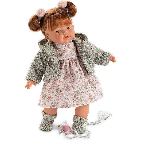 Llorens Кукла Llorens Алиса, 33 см, озвученная