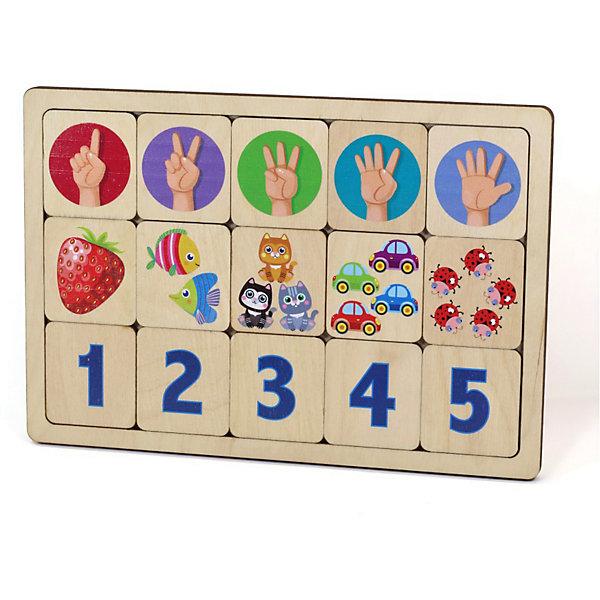 Десятое королевство Игра развивающая Считаем до пяти,
