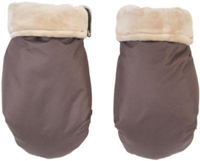 муфта для рук mammie шерсть эко замша цвет экрю Mammie Муфта-рукавички для маминых рук Mammie,