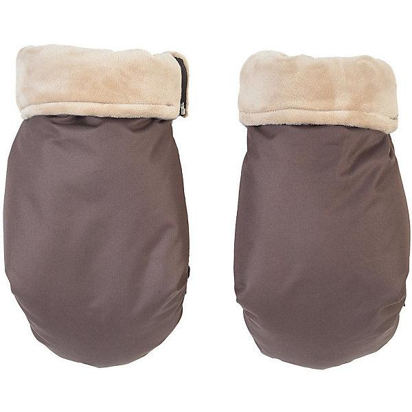 Купить Муфта-рукавички для маминых рук Mammie, коричневый, Россия, Унисекс