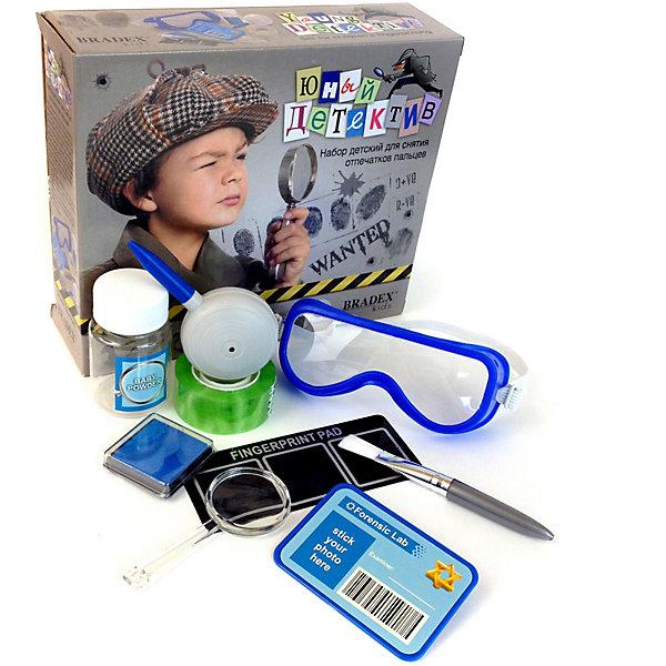 Купить Набор для снятия отпечатков пальцев Bradex Юный детектив , Китай, Мужской