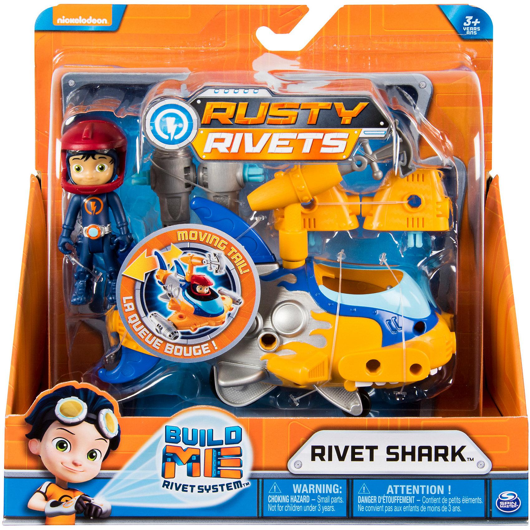 Игрушка Rusty Rivets построй машину героя