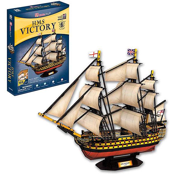 CubicFun 3D пазл CubicFun Корабль Виктория cubicfun 3d пазл cubicfun корабль месть королевы анны