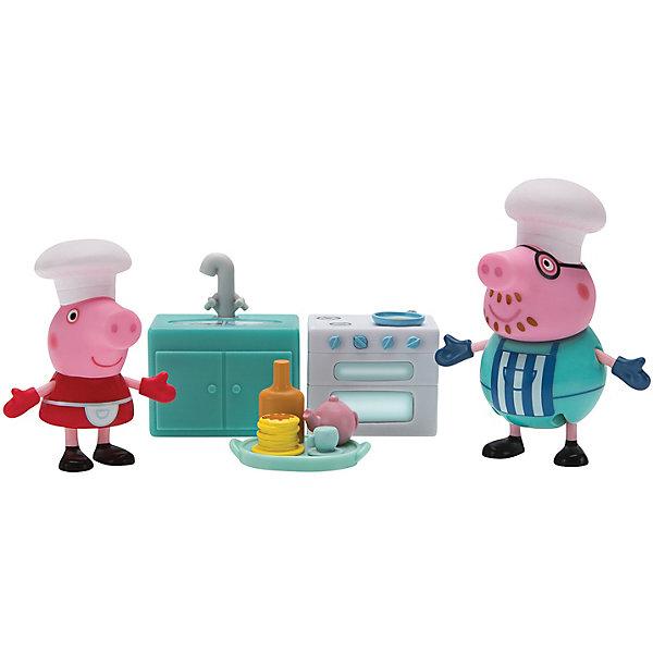Росмэн Игровой набор Росмэн Свинка Пеппа Пеппа и Мама пекут блинчики magic home закладка для книг 75683