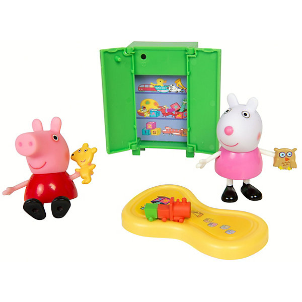 Росмэн Игровой набор Росмэн Свинка Пеппа Пеппа и Сьюзи играют в игры