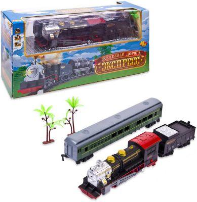 Железная дорога ABtoys  Экспресс , 39х12,1х18,3 см., артикул:10308951 - Транспорт
