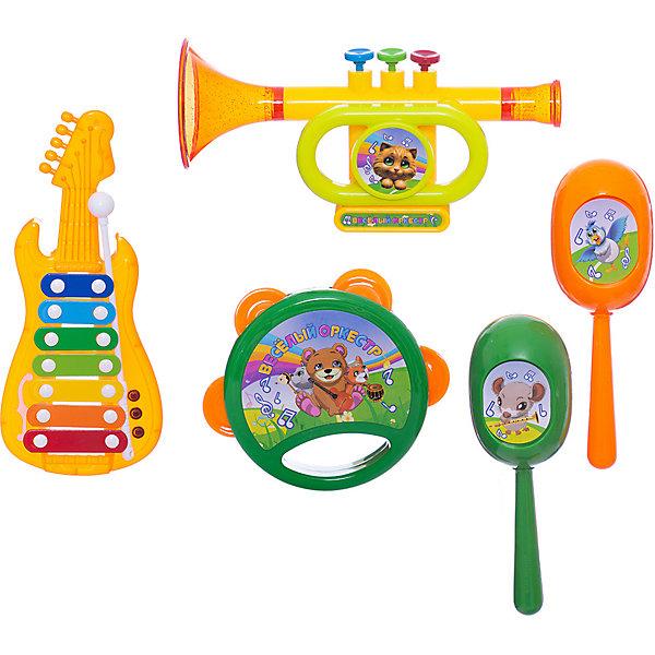 ABtoys Набор музыкальных инструментов ABtoys DoReMi, 5 предметов цена