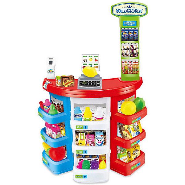 ABtoys Игрушечный супермаркет Помогаю маме, 38 предметов