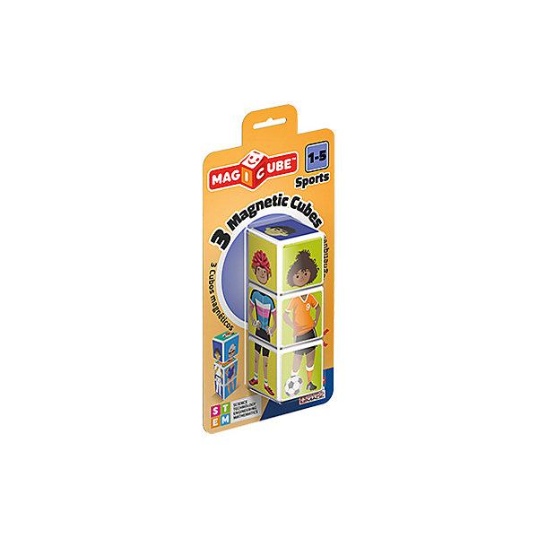 Купить Конструктор магнитный Geomag MagiCube Спорт, 3 детали, SZ, Унисекс
