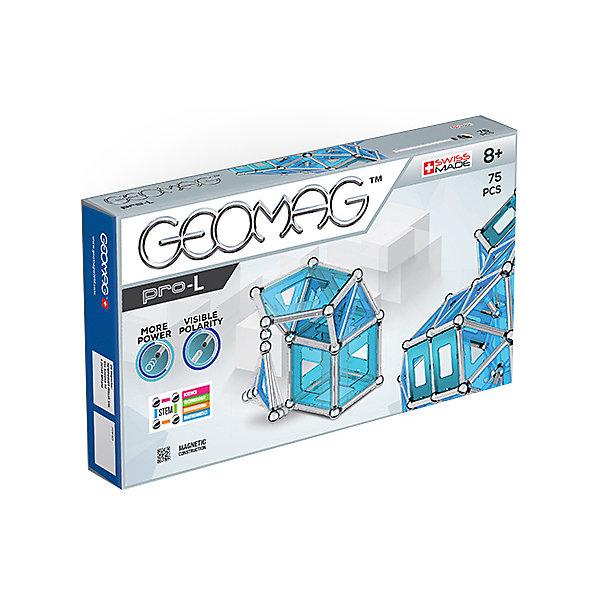 Geomag Конструктор магнитный Geomag Pro-L, 75 деталей конструктор серии рыцари 220 деталей