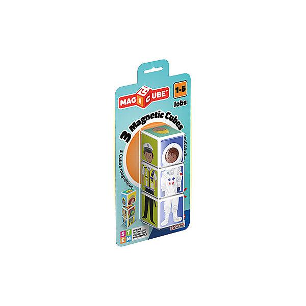 Купить Конструктор магнитный Geomag MagiCube Профессии, 3 детали, SZ, Унисекс