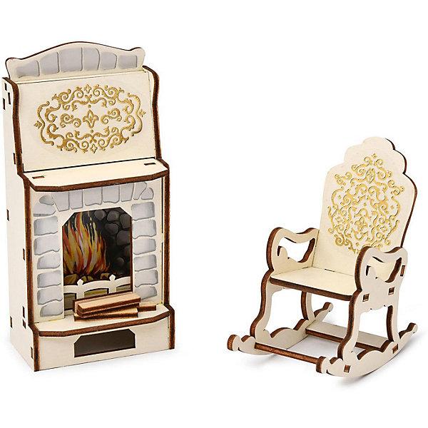 ЯиГрушка Набор мебели Одним прекрасным утром «Камин  кресло-качалка», коллекция «Барокко»