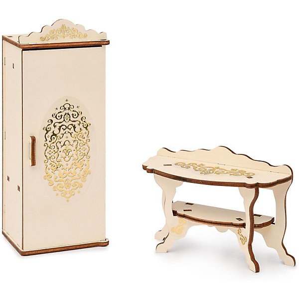 аксессуары для мебели ЯиГрушка Набор мебели Одним прекрасным утром «Спальня», коллекция «Барокко»
