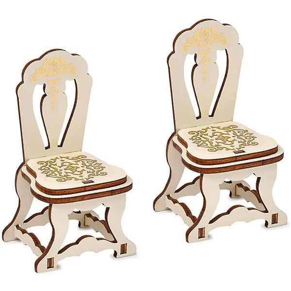 аксессуары для мебели ЯиГрушка Набор мебели Одним прекрасным утром «Два стула», коллекция «Барокко»