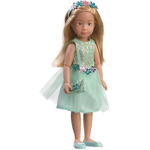 Kruselings Кукла Kruselings Вера в нарядном платье для вечеринки, 32 см