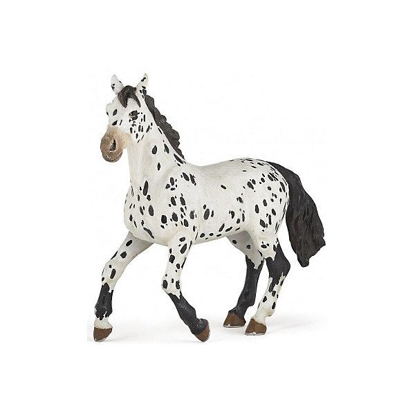 РаРо Фигурка PaPo Черная апалузская лошадь игровые фигурки papo игровая реалистичная фигурка людовик xiv на коне