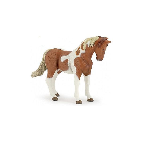 РаРо Фигурка PaPo Пегая лошадь игровые фигурки papo фигурка лошадь с символом флер де лис