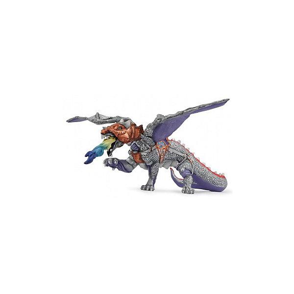 papo Фигурка PaPo Воинственный дракон игровые фигурки papo игровая реалистичная фигурка кит убийца касатка 1