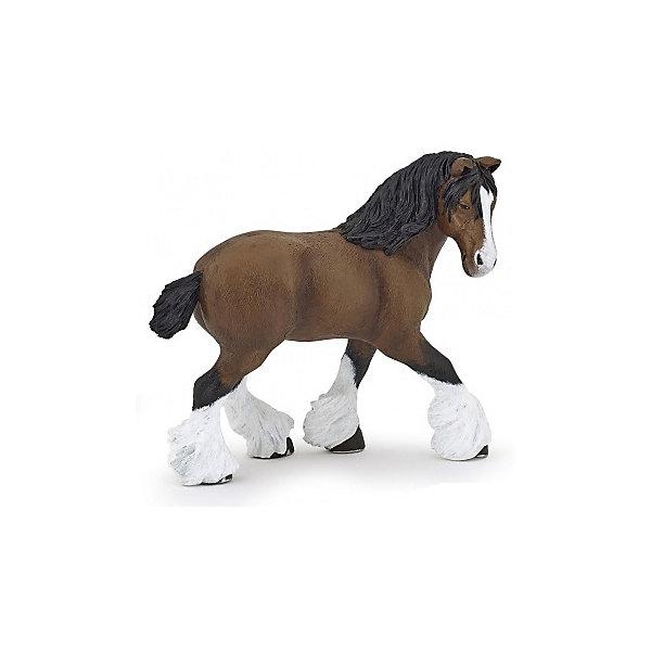 РаРо Фигурка PaPo Гнедая кобыла шайрской породы игровые фигурки papo игровая реалистичная фигурка людовик xiv на коне