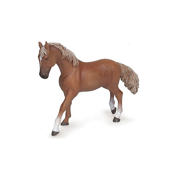 РаРо Фигурка PaPo Рыжая верховая лошадь игровые фигурки papo фигурка лошадь с символом флер де лис