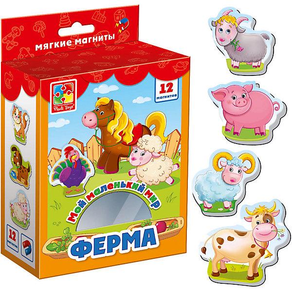 Vladi Toys Мягкие магниты Мой маленький мир Ферма