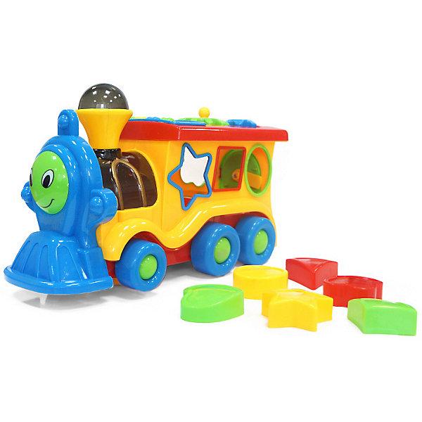 My Angel Развивающая игрушка My Angel Кукутики Паровоз-сортер интерактивные игрушки learning journey паровоз в наборе с шариками звуковые и световые эффекты