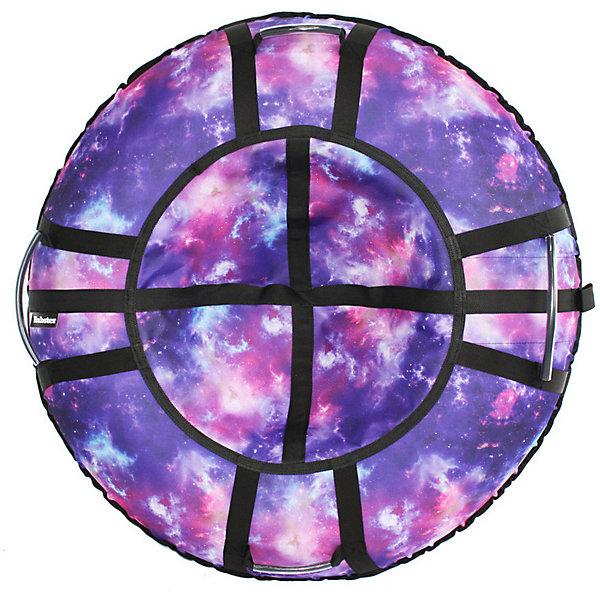Hubster Тюбинг Hubster Люкс Pro Галактика, 90 см тюбинг надувной с защитным чехлом 90 см bradex sf 0097