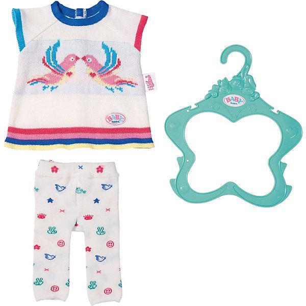 купить Zapf Creation Одежда для куклы Zapf Creation Baby Born Трикотажный костюм онлайн