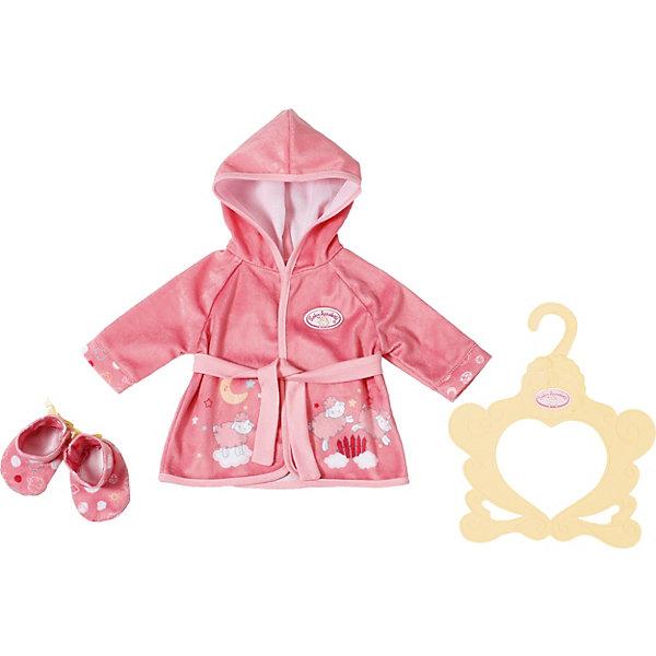 Zapf Creation Одежда для куклы Baby Annabell Уютный халатик и тапочки
