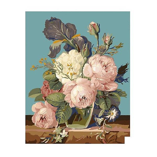 Molly Картина по номерам Molly Утренние пионы, 40х50 см утренние цветы