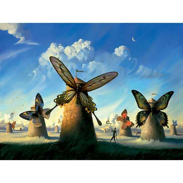 Купить Картина по номерам Molly Сальвадор Дали Бабочки, 40х50 см, Россия, разноцветный, Унисекс