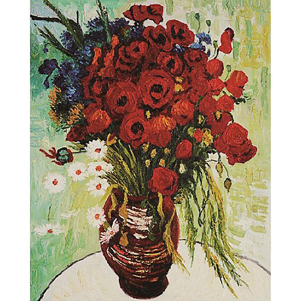 Molly Картина по номерам Molly Ван Гог Цветущие маки и ромашки, 40х50 см