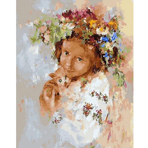 Molly Картина по номерам Molly Любимый питомец, 40х50 см