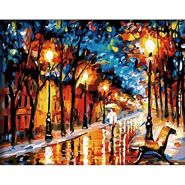 Molly Картина по номерам Афремов Осенний вечер, 40х50 см