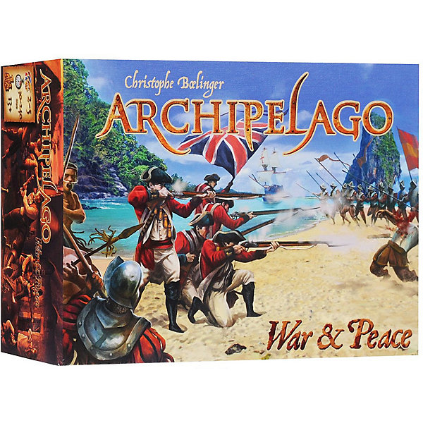 Asmodee Настольная игра Архипелаг: дополнение Война и Мир