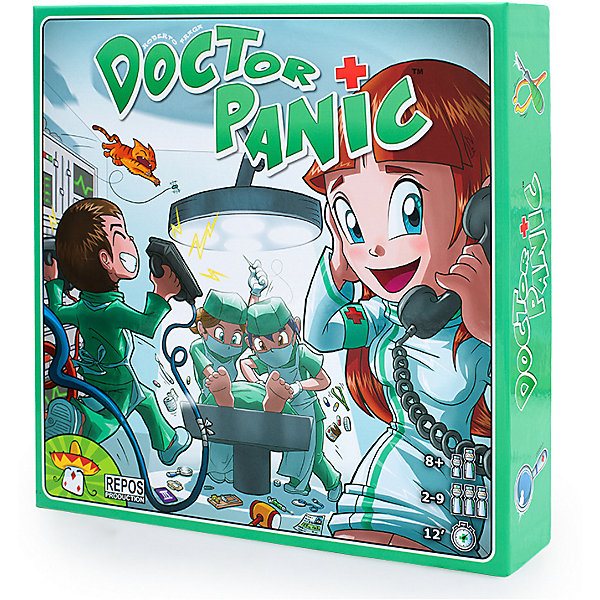 Asmodee Настольная игра Доктор Паника