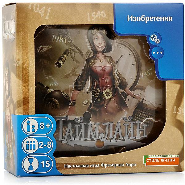 Asmodee Настольная игра Asmodee Таймлайн. Изобретения рут томсон наука и изобретения книга для творчества