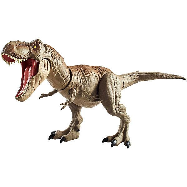 Купить Игровая фигурка Jurassic World Двойной удар Ти-Рекс, Mattel, Китай, Мужской