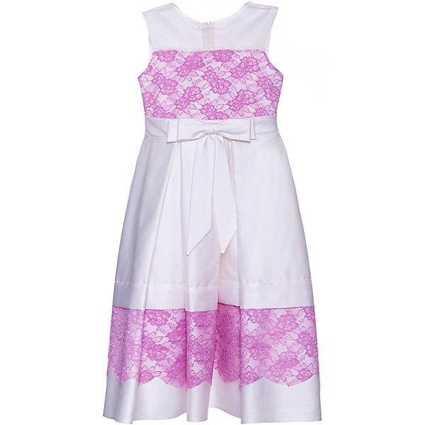 Купить Нарядное платье Престиж, Россия, белый, 128, Женский