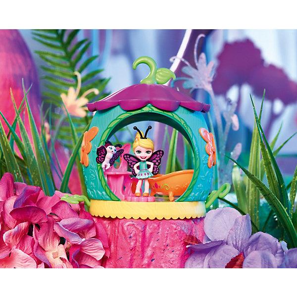 Купить Игровой набор Enchantimals Домик букашек Бакси Бабочка и ванная, Mattel, Китай, Женский