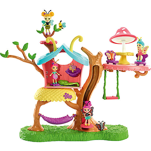 Купить Игровой набор Enchantimals Домик бабочек Клубный дом Бакси Бабочки, Mattel, Китай, Женский