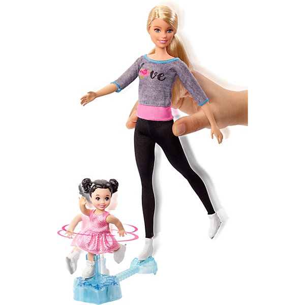 Mattel Игровой набор Barbie Спортивная карьера Катание на коньках